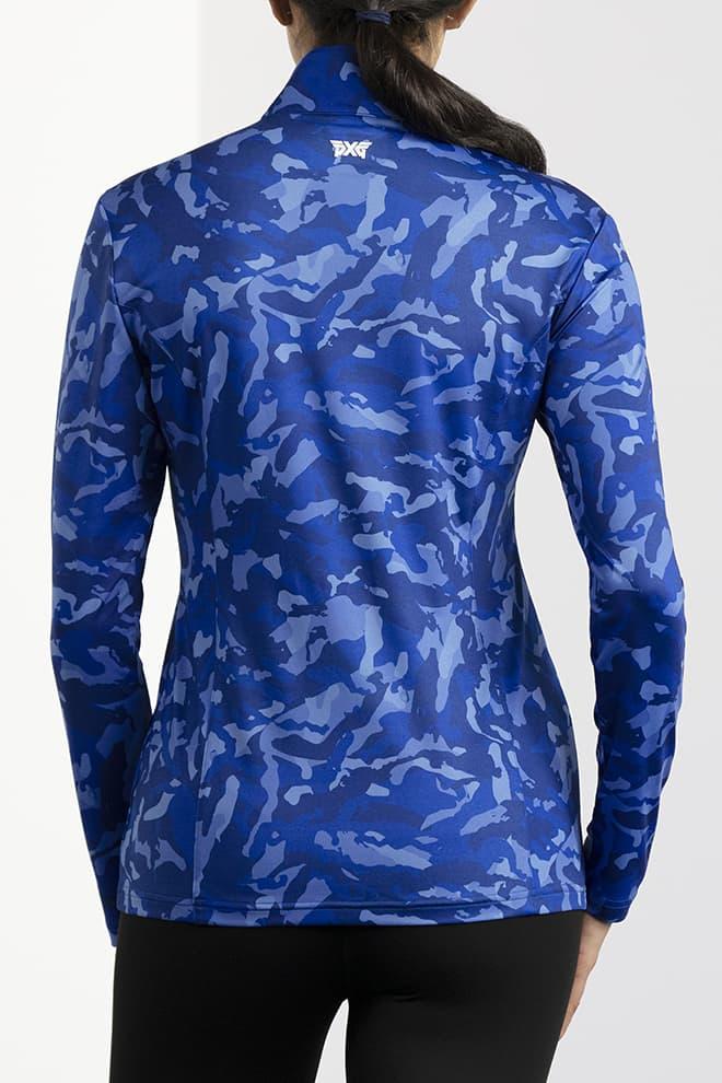 Paratrooper Blue Fairway Camo™ Essential Pullover Image 4