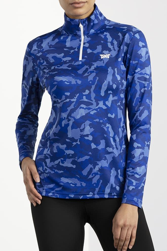 Paratrooper Blue Fairway Camo™ Essential Pullover Image 1