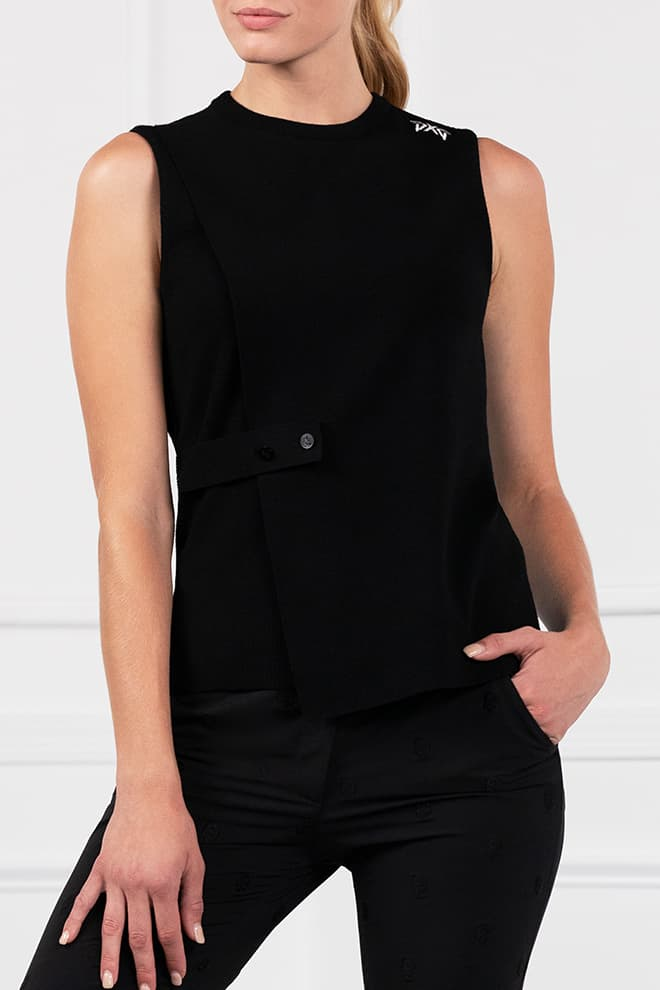 Wrap Sweater Vest Image 1