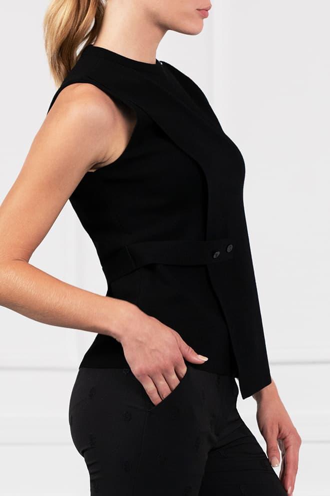 Wrap Sweater Vest Image 3