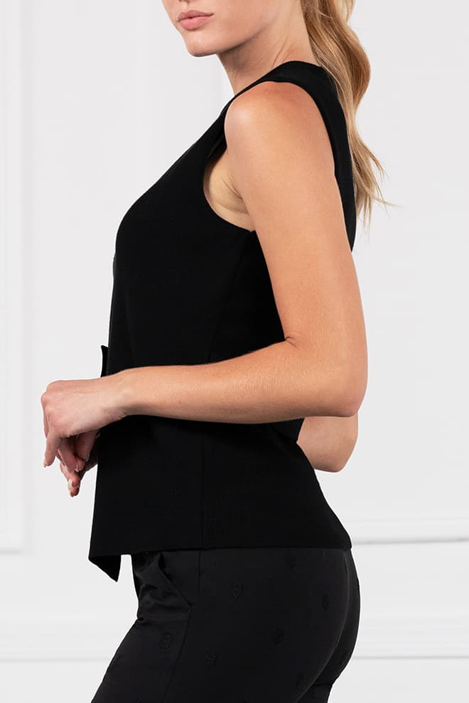 Wrap Sweater Vest Image 2