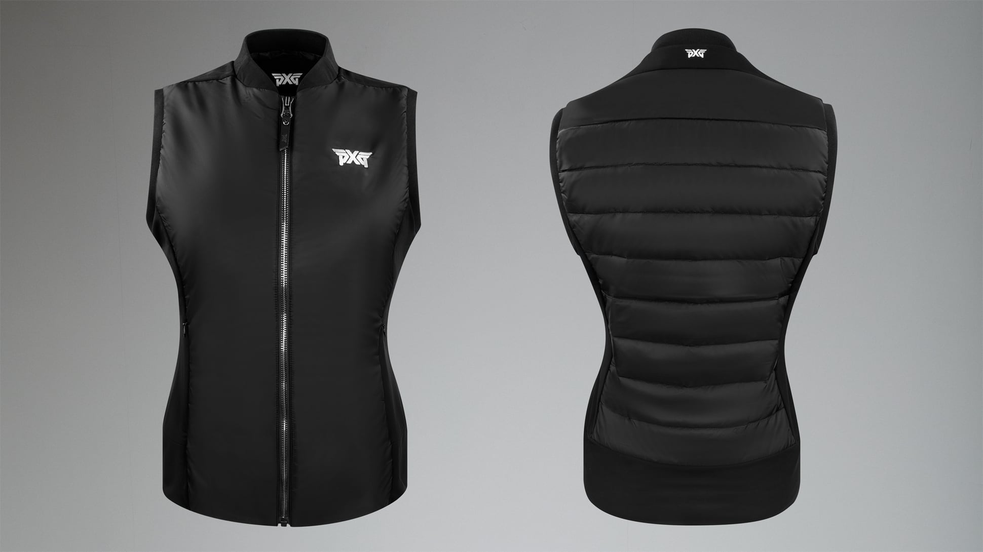 Quilted Core Down Hybrid Vest Image 0
