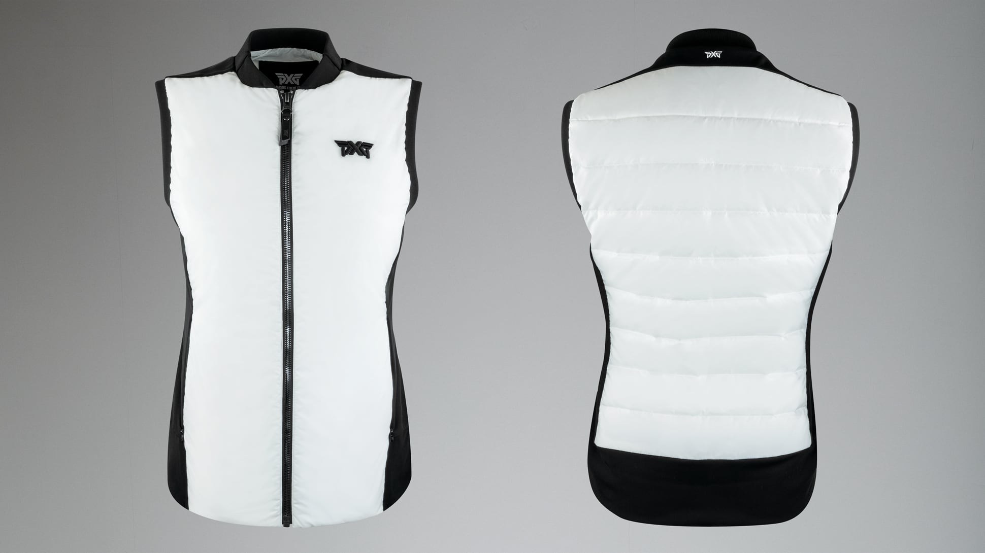 Quilted Core Down Hybrid Vest Image 1