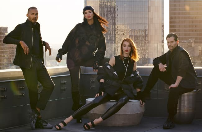 Fall Winter Apparel Group Shot New York City Roof Top | PXG