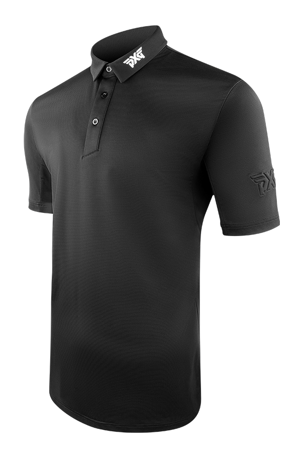 men's Textured Stretch Polo