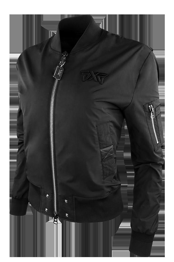 Women's Signature Zip Front Bomber Jacket