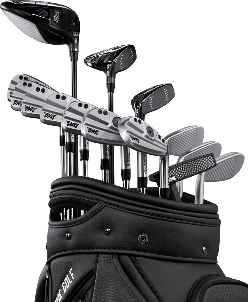 PXG Gen4 Golf Clubs in bag