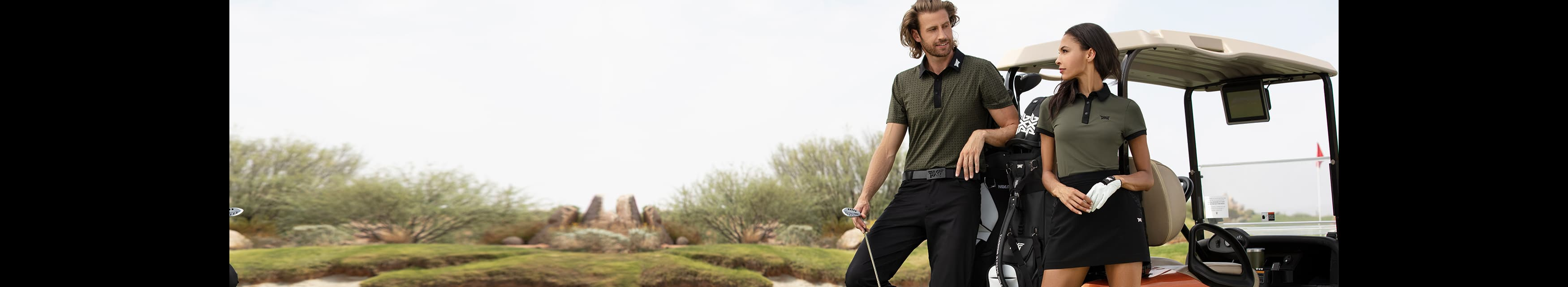 Fall/Winter 2020 Collection in a lodge setting - PXG Takes You There