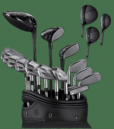 Set of 0211 Golf Clubs