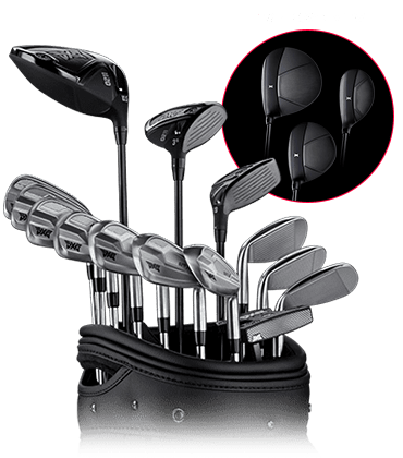 Set of 0211 Golf Clubs
