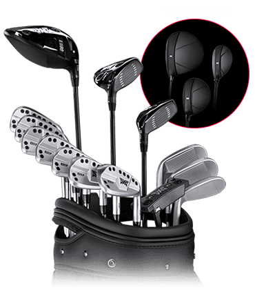 Set of GEN3 Golf Clubs