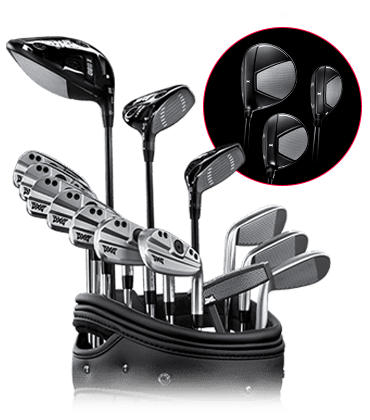 Set of GEN4 Golf Clubs