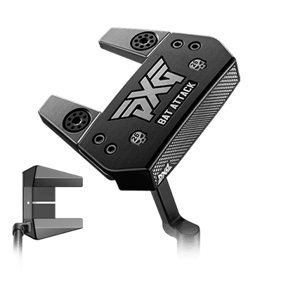 Shop Battle Ready Bat Attack Putter