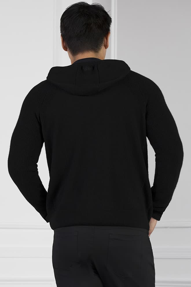 Full-Zip Cashmere Hoodie Image 3