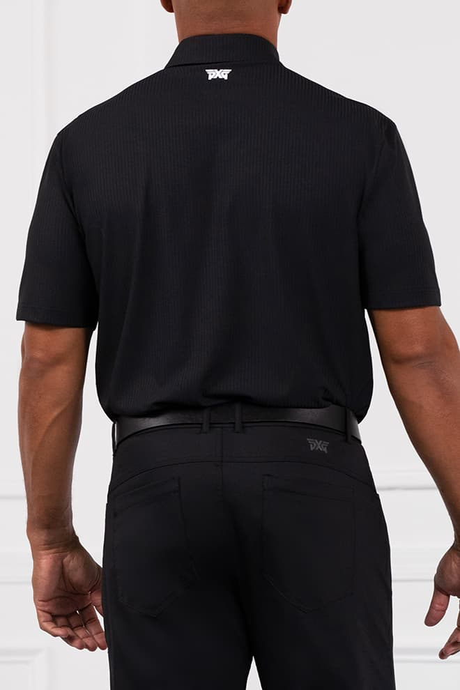 Comfort Fit Contrast Color Polo Image 2