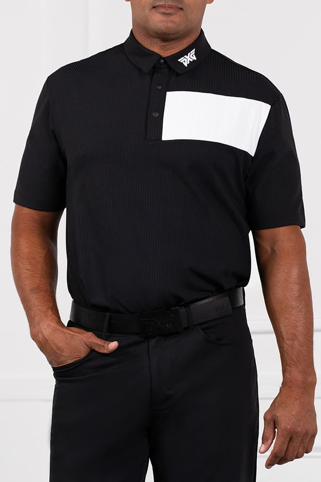 Comfort Fit Contrast Color Polo Image 1