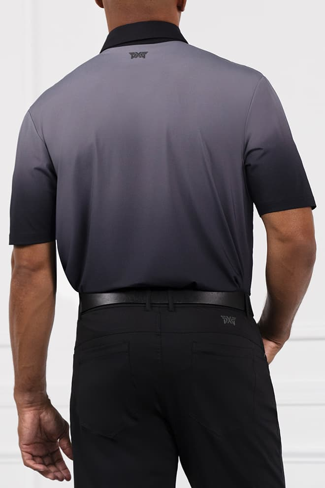 Comfort Fit Ombre Polo Image 3