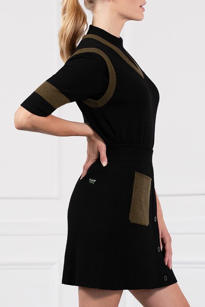 Two-Tone Skirt Image 2