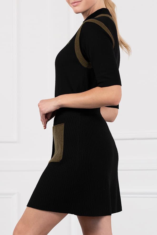 Two-Tone Skirt Image 3