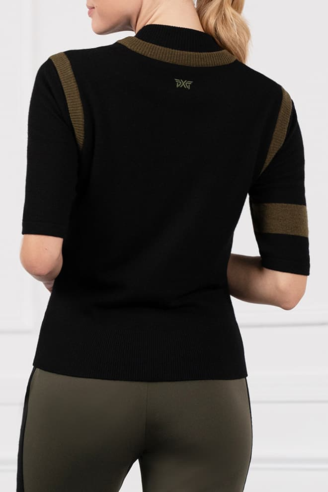 Two-Tone Sweater Vest Image 4