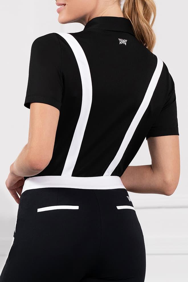 Contrast Stripe Polo Image 3