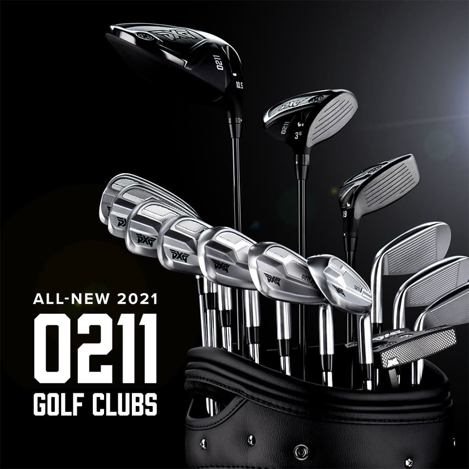 PXG 2021 0211 Collection of Golf Clubs