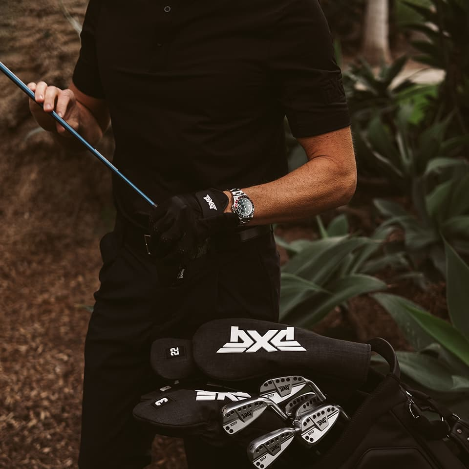 PXG Bag of Clubs with Headcovers