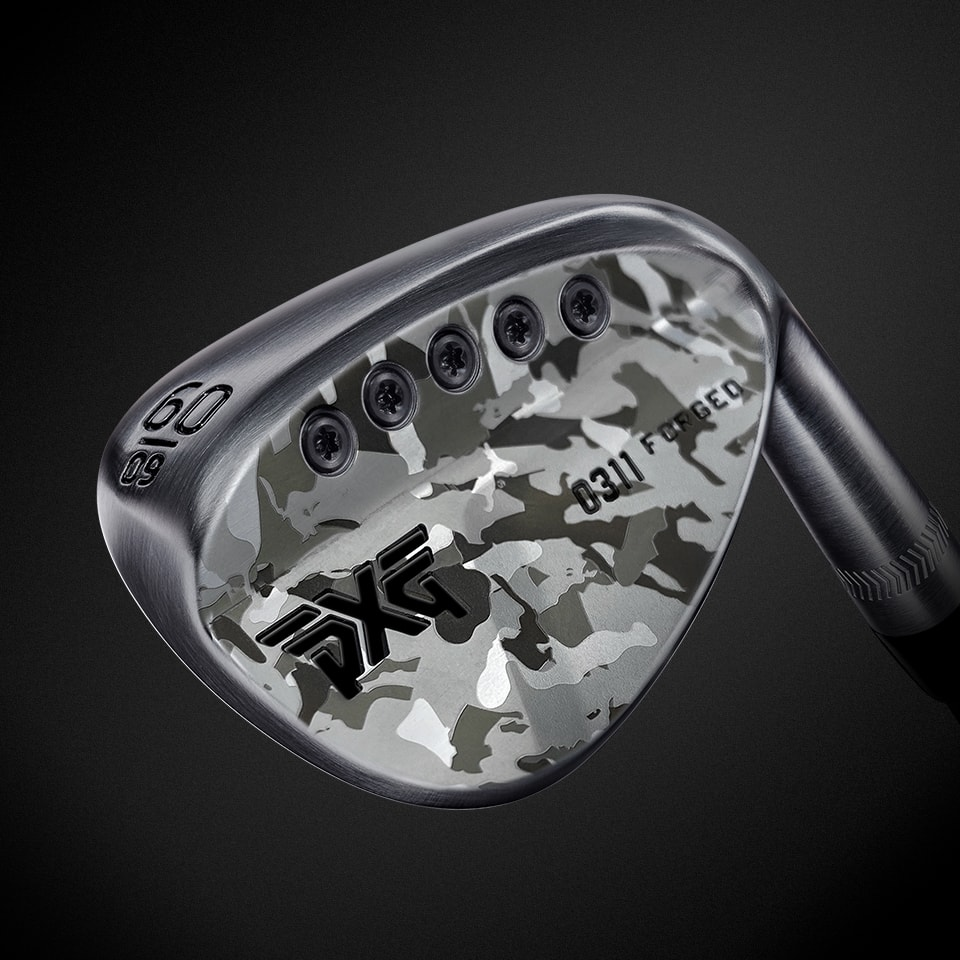 PXG Limited Edition Fairway Camo Forged Wedge.