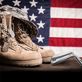 Getting PXG Clubs in the Hands of Our Military Heroes