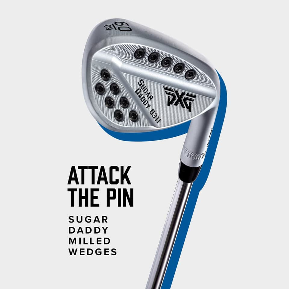 PXG Milled Wedge