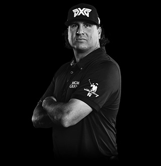 Pat Perez plays PXG