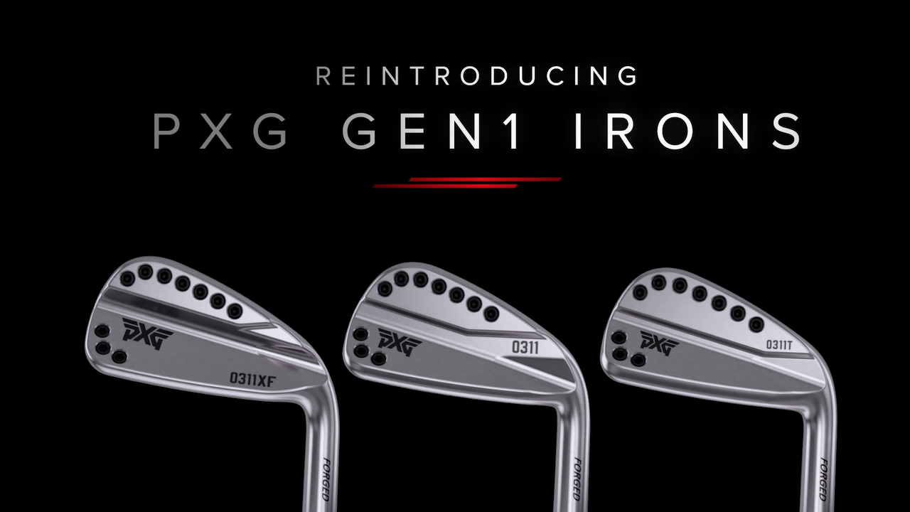 REINTRODUCING PXG GEN1 IRONS