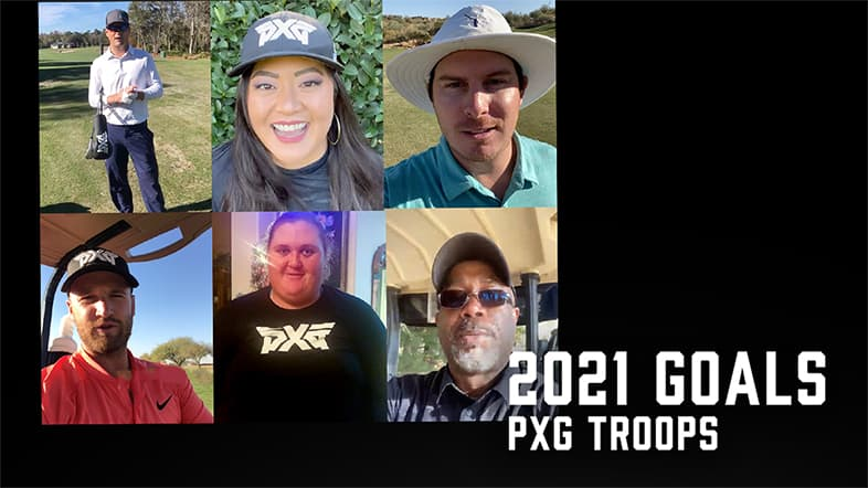 2021 Goals from Darius Rucker and our PXG Pros