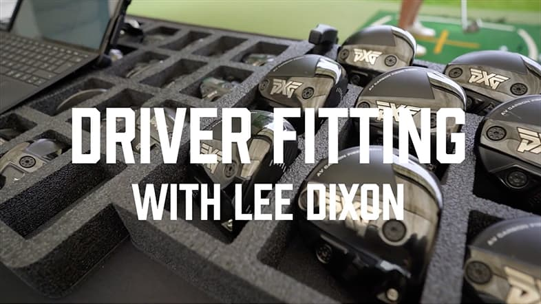 Ex-Pro UK Football Star Lee Dixon Get Fitted for Golf Clubs