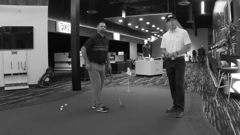 DK Kim : Grip A Putter In Your Palm