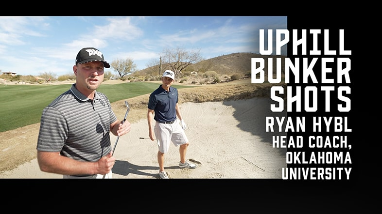 How to Hit Uphill Bunker Shots