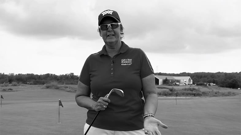 SMU Women's Golf Coach Jeanne Sutherland: Chipping Tempo
