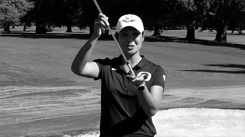 Oregon Women's Golf Coach Ria Scott: Execute a High Flop Shot