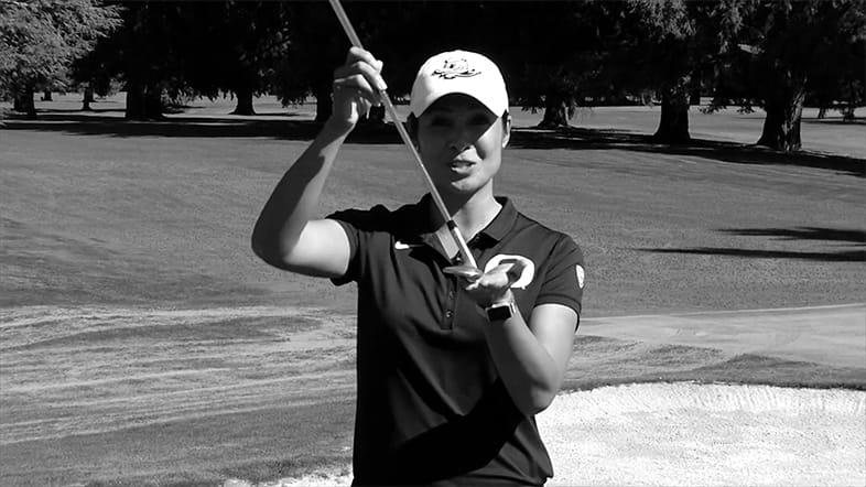 Oregon Women's Golf Coach Ria Scott: Execute a High Flop Shot