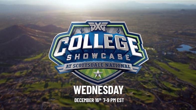 4 Celebrities, 4 College Golf Stars, $1M on the Line | PXG College Golf Showcase