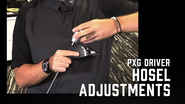 PXG Driver Hosel Adjustments
