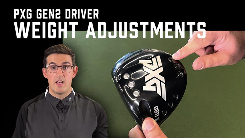 PXG GEN2 Driver Weight Adjustments