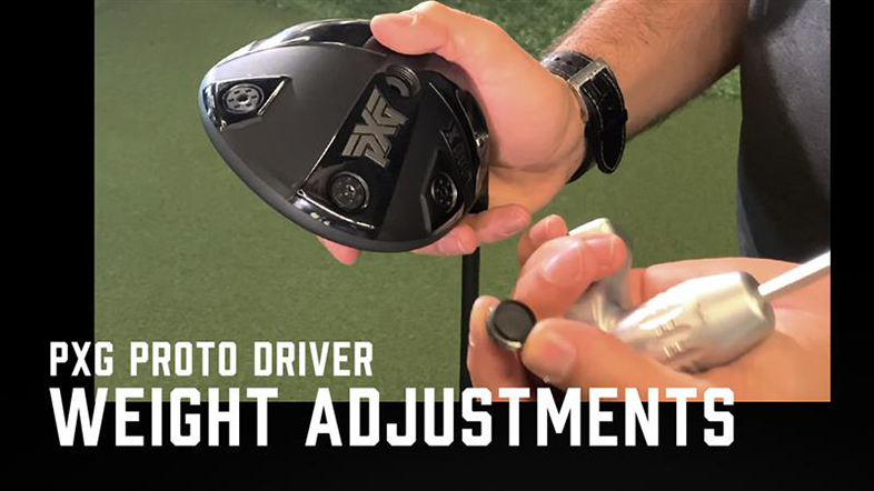 PXG Proto Driver Weight Adjustments