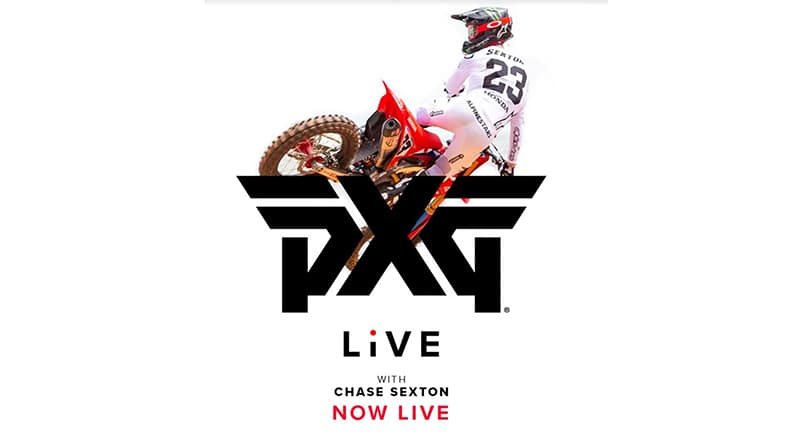 PXG Live Fitting with Chase Sexton, 2X East Coast Super Cross Champion