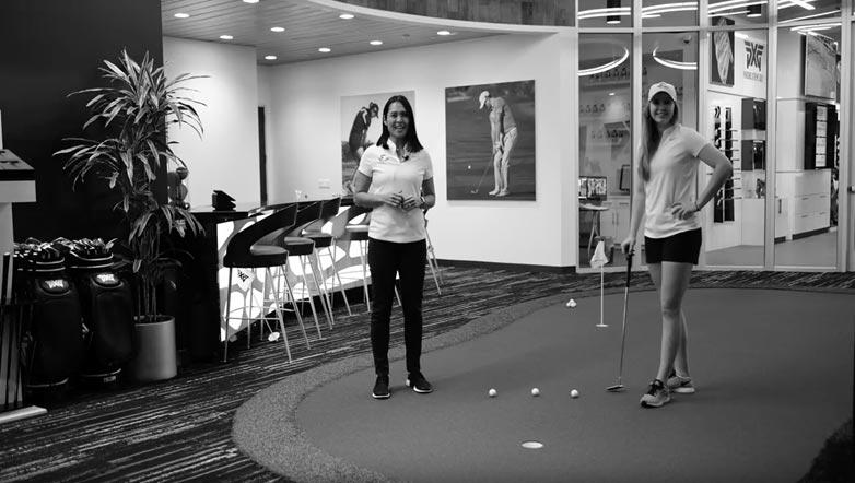 Oregon Women's Golf Coach Ria Scott: Putting Is Like Basketball