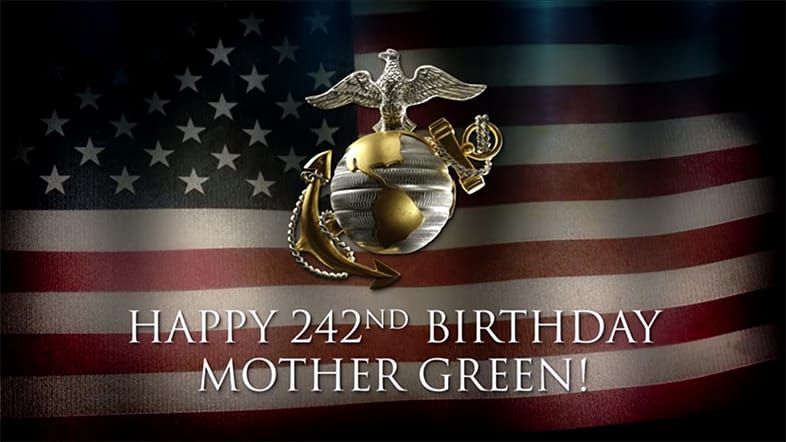 Bob Parsons' Marine Corps Birthday & Veterans Day
