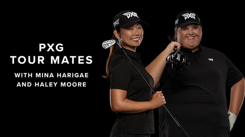 Mina Harigae & Haley Moore On & Off the Course