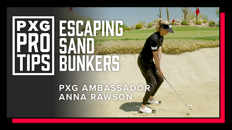 How to Hit Better Greenside Bunker Shots with Anna Rawson