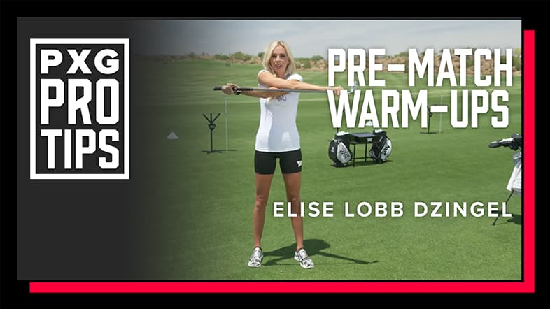 3 Simple Pre-round Golf Workouts with Elise Lobb Dzingel