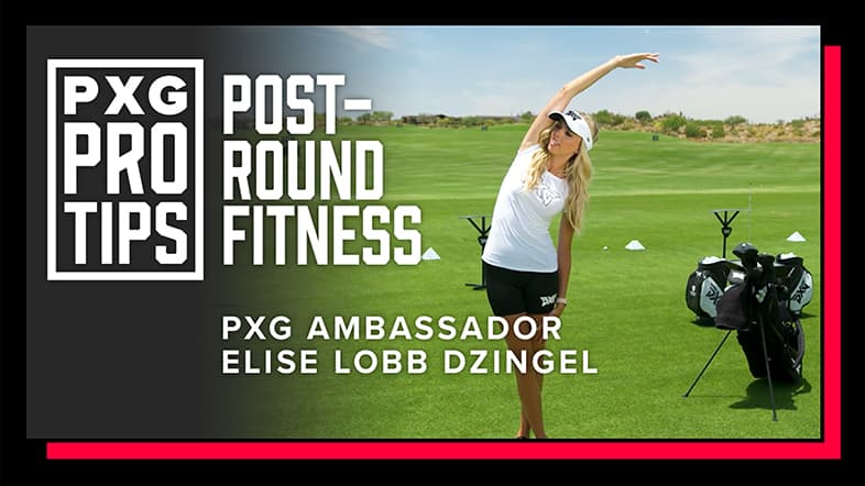 3 Simple Post-Round Golf Workouts with Elise Lobb Dzingle